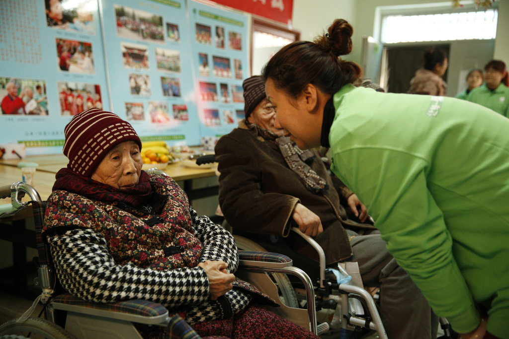 Provide one-on-one assistance to poor elderly