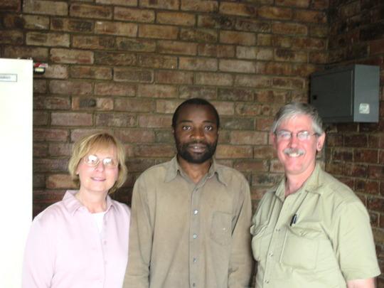 Cathy& John Hayes with James Kilene