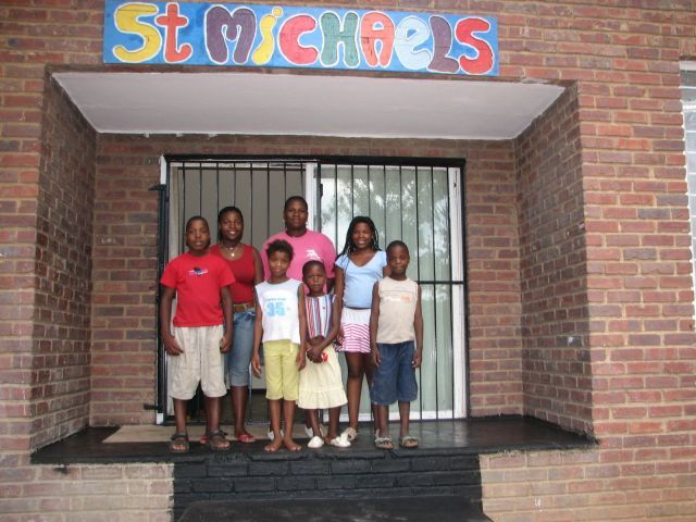 Photo-- Family from St Michaels
