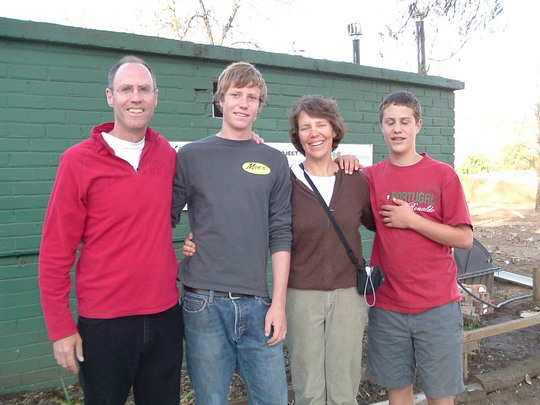 Missy and Mike Young and family