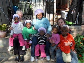 The girls of Shalom House