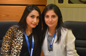 Fairoz (left) and Awaz (right)
