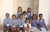 Education support to 25 deprived children in India