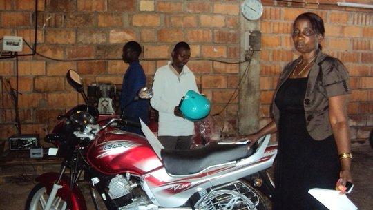 Kind People's New Motorbike