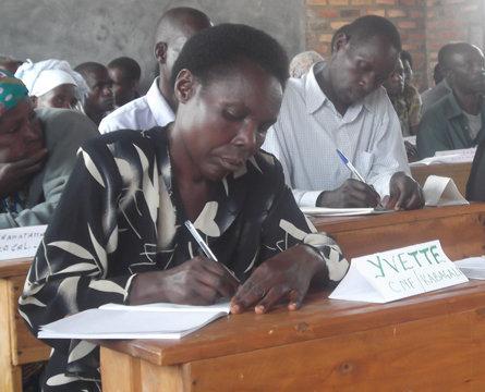 Education for Young Girls - Niyitegeka Rachel