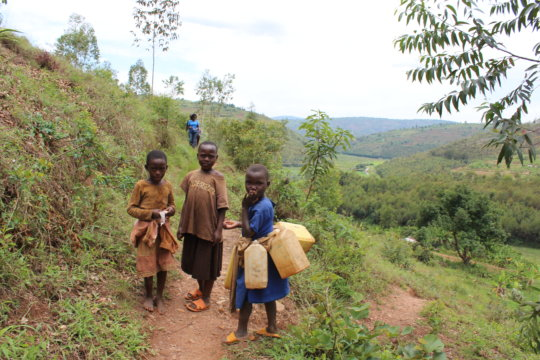 Girls often miss school retrieving water
