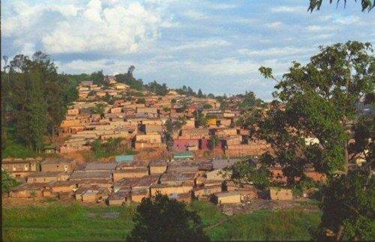 A Village in Kigali, Rwanda