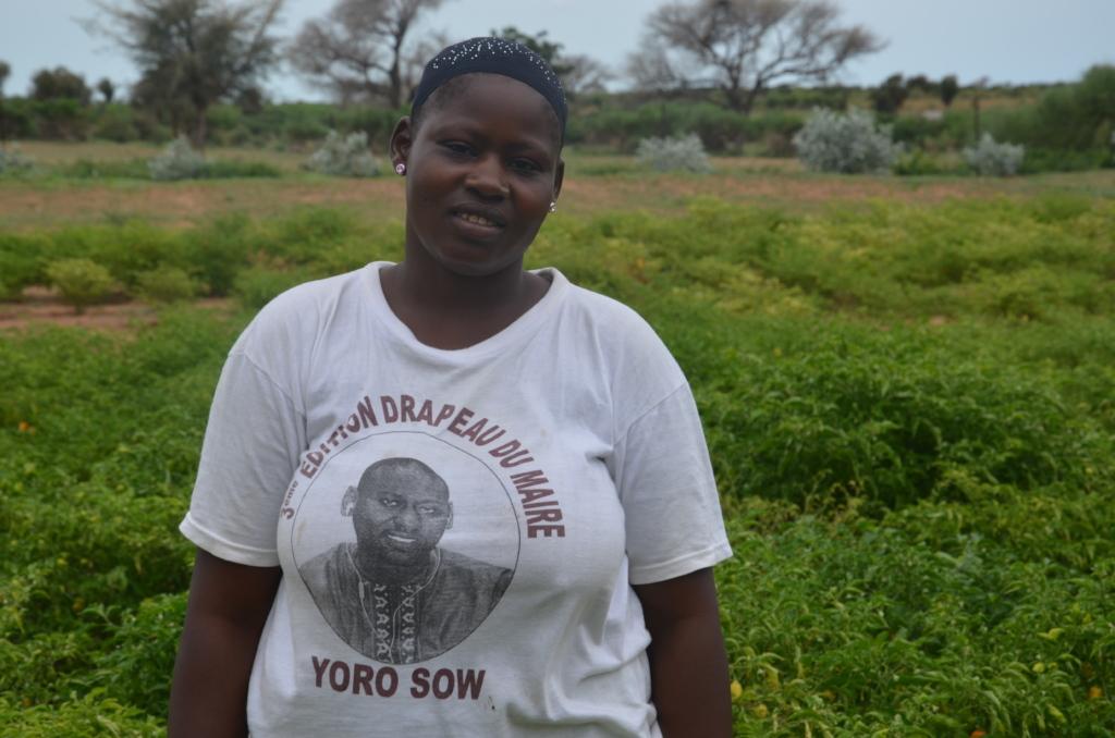 Awa Diop of Santhie loves CREATE!s water program
