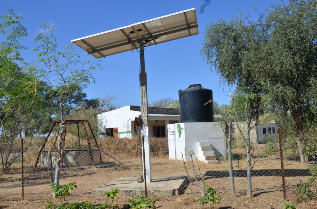 The sustainable solar pumping system in Walo