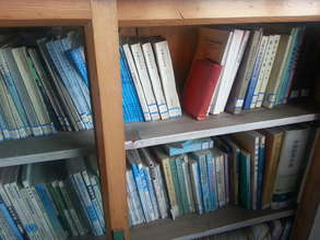 Books at Shiyidaogou Rural School Library