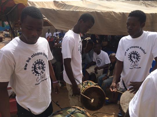 Teen Drummers