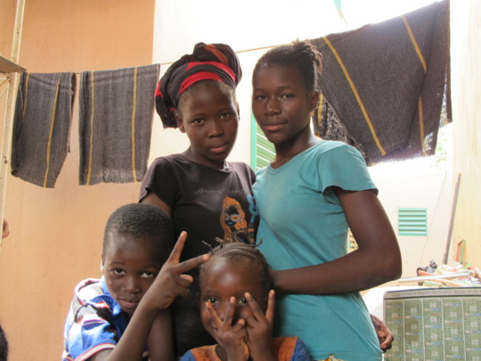 Young Girls at the clinic