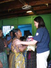 Support parcels for elderly people in Guatemala
