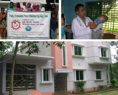 Health services for 1000 patients in Bangladesh