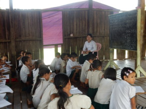 Class room in the KNU village