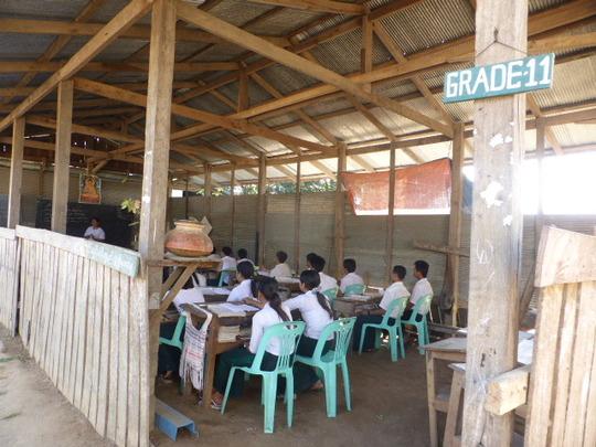 Grade 11 classroom