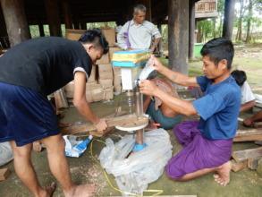 KNU village workshop for SESs