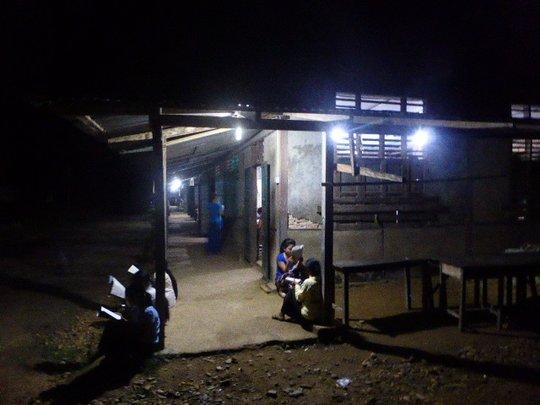 Night school(outside)