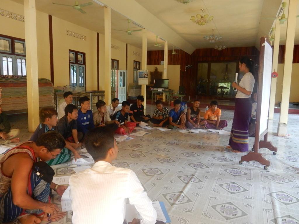 Teaching villagers(2)