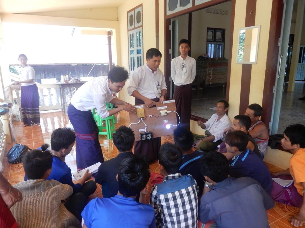 Teaching villagers(3)