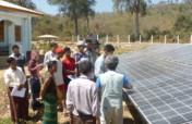 Solar Power to Villages in Karen State, Myanmar
