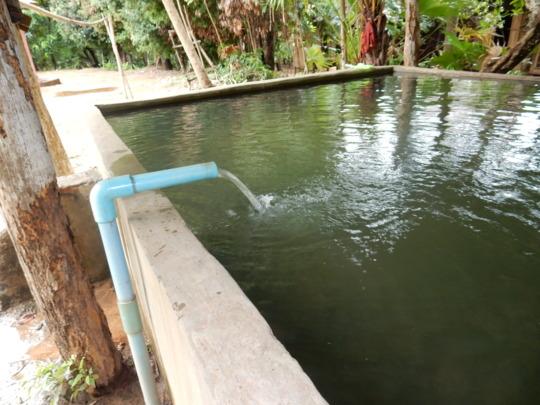 water reservor in KTH village