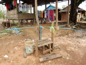 water tap in KTH village