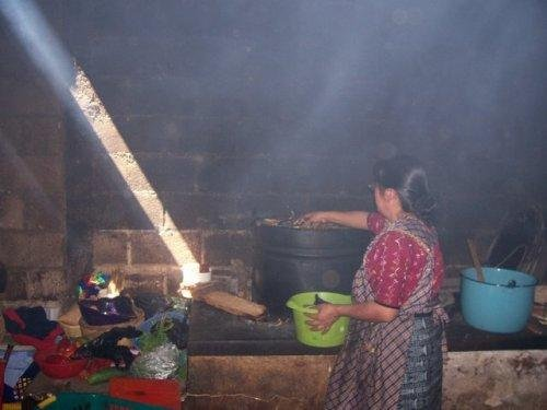 Fuel Efficient, Life Saving Stoves for 40 Families
