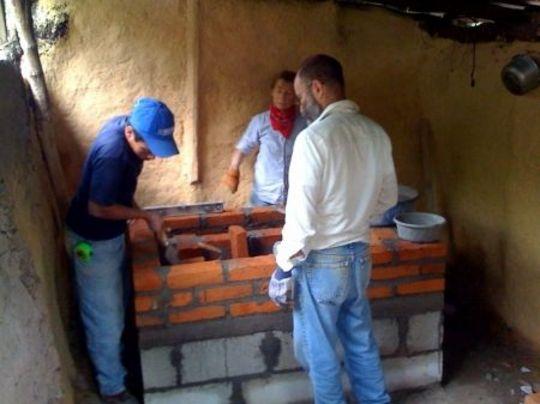 Stove construction