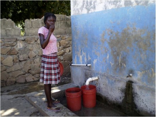 Clean water equals healthier living!