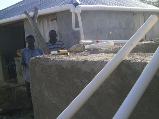 cistern in construction