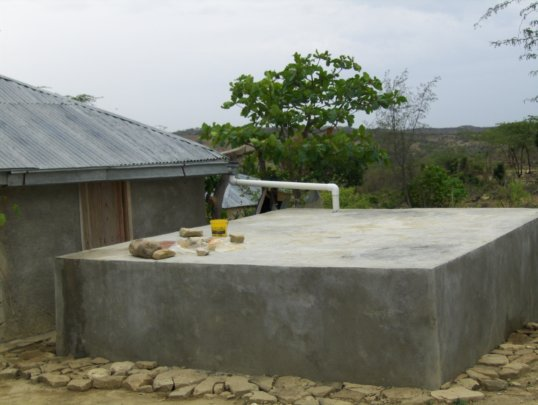 One of the  of 20 cisterns built
