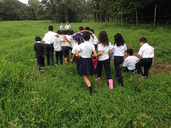 School children @ Delicias in July 2014