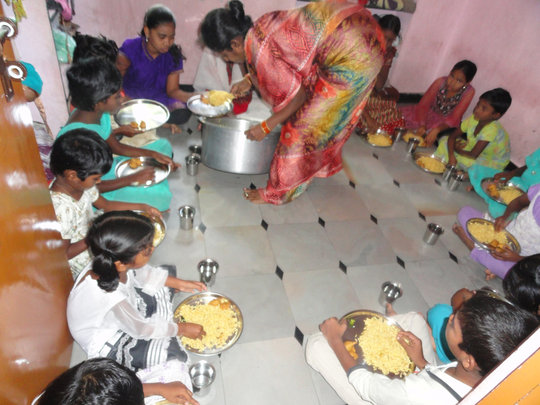 Provide breakfast for underprivileged children
