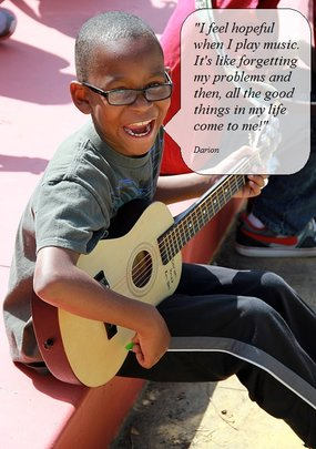 Help Military Children Cope Through Music