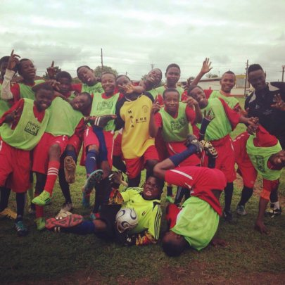 Excited Kumba Youth Players!