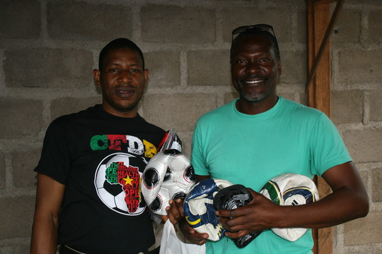We support our teams and coaches with soccer gear