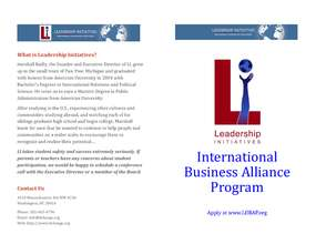 IBAP Pamphlet (PDF)