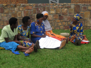 Participants discuss community problems in Kayonza