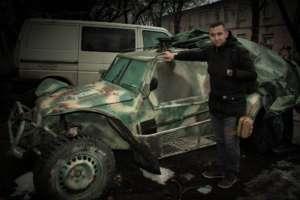 Alum Igor Tokar in Ukraine in December w/RISC kit