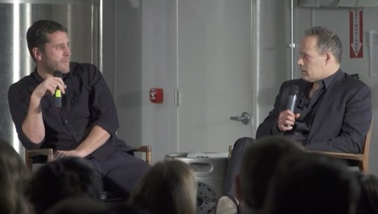 Sebastian Junger & Ben Anderson in RISC series