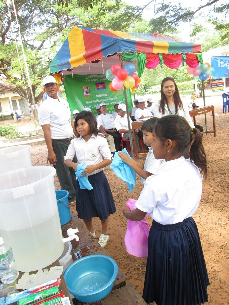 Latrines--Restoring Health and Dignity to Cambodia