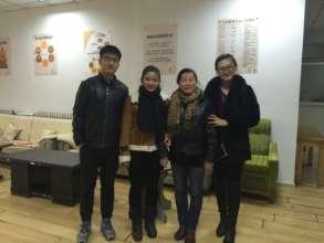 The YNL Team in Cuihu Community
