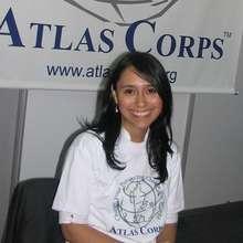 Fellow Alejandra Tapia from Colombia