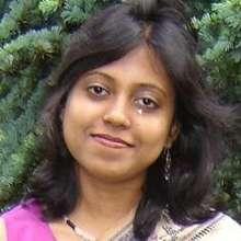 Fellow Gargi Saha from India