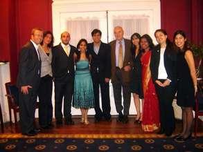Senator Harris Wofford Meets the Fellows