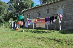 Teen Girls' Home - On Laundry Day