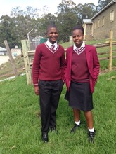Hope Academy students in their full uniform