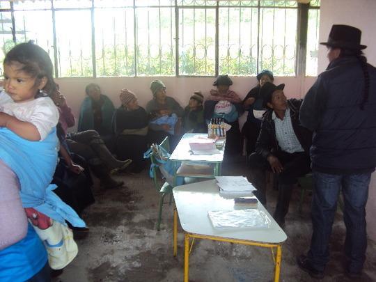 Community meeting for Plan Moo