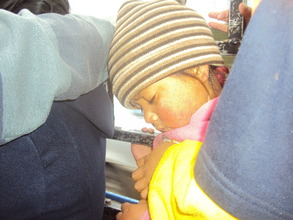 Asleep on the 1-hour daily commute to school